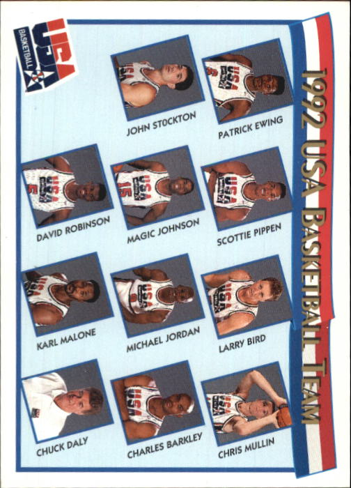 1991-92 Hoops McDonald's #62 USAB Team