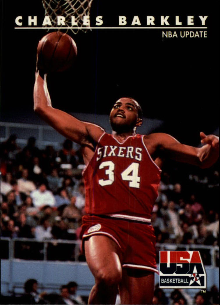 1992 SkyBox USA #1 Charles Barkley/NBA Update