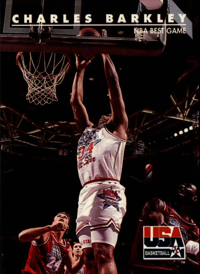 1992 SkyBox USA #4 Charles Barkley/NBA Best Game