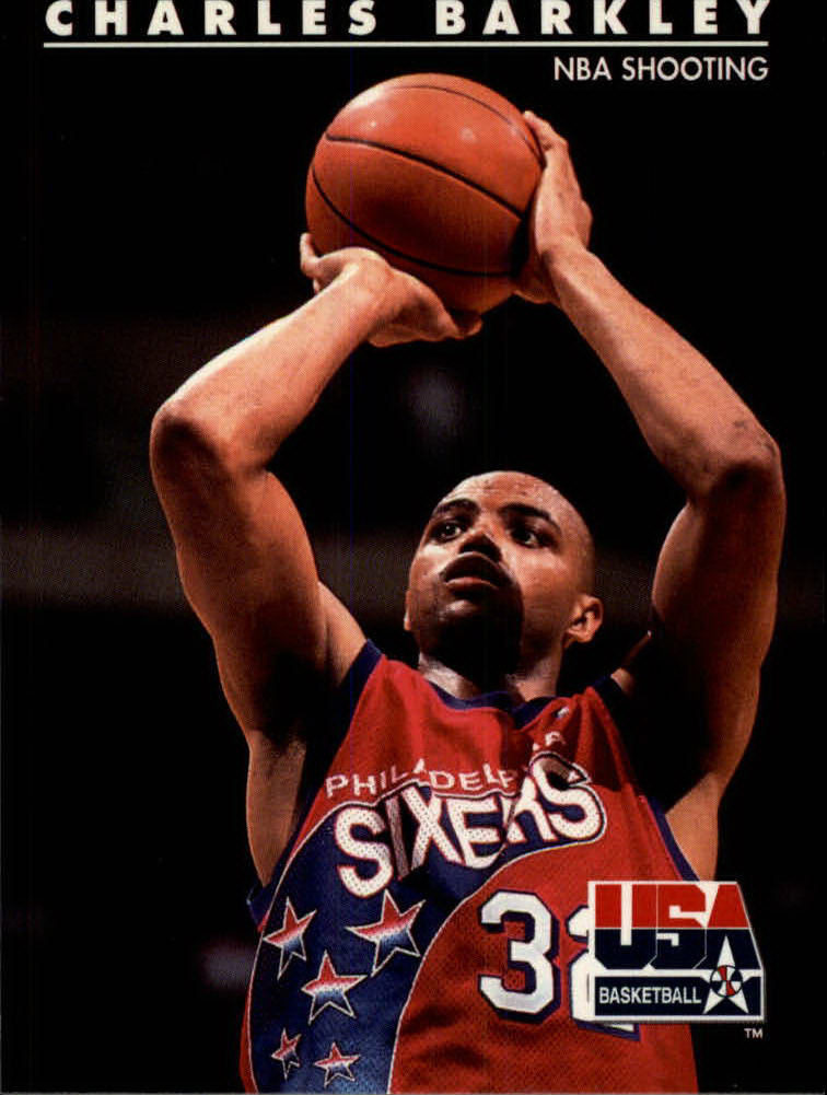 1992 SkyBox USA #8 Charles Barkley/NBA Shooting