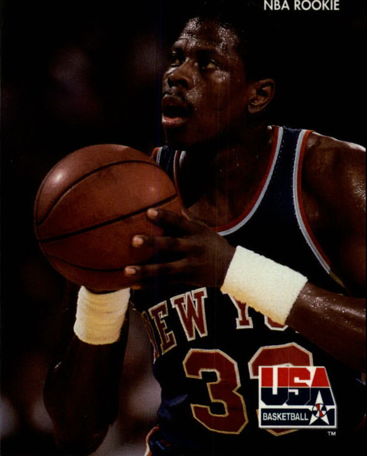 1992 SkyBox USA #20 Patrick Ewing KNICKS/NBA Rookie