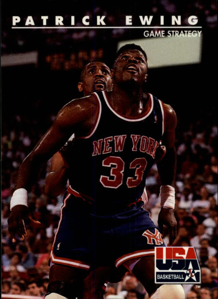 1992 SkyBox USA #21 Patrick Ewing/Game Strategy
