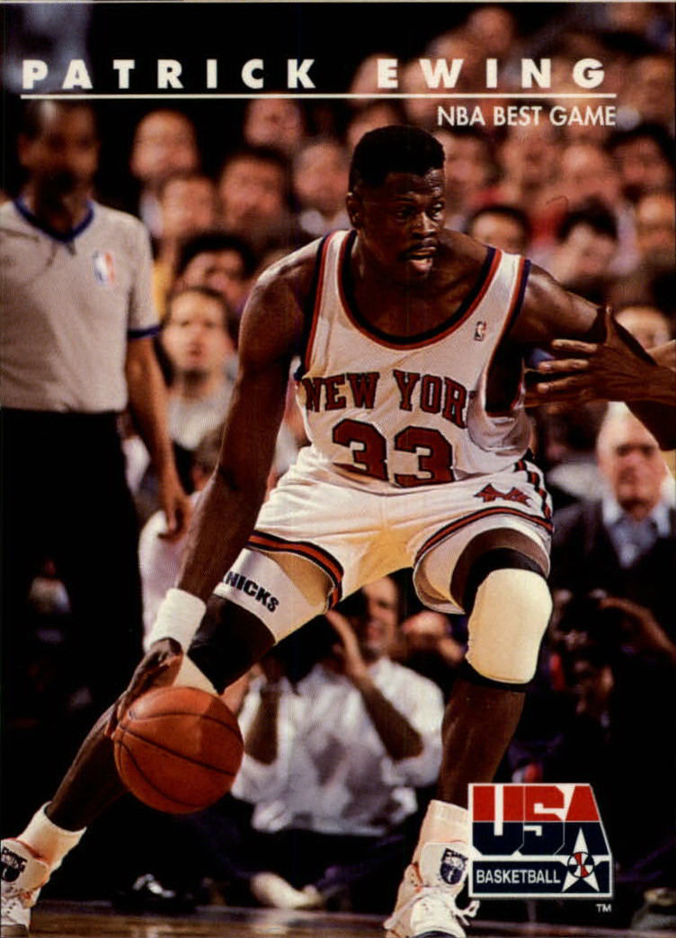1992 SkyBox USA #22 Patrick Ewing/NBA Best Game