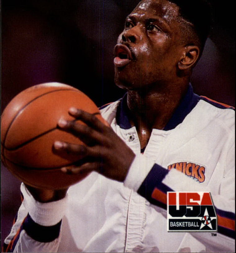1992 SkyBox USA #23 Patrick Ewing/Off the Court