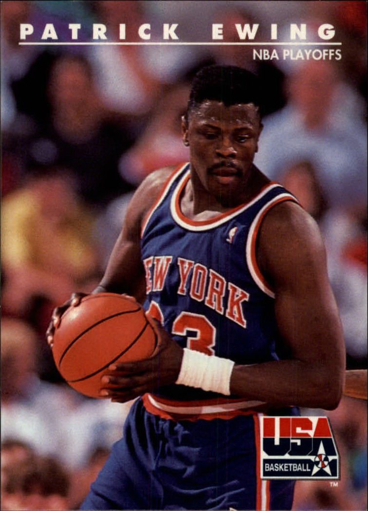 1992 SkyBox USA #24 Patrick Ewing/NBA Playoffs