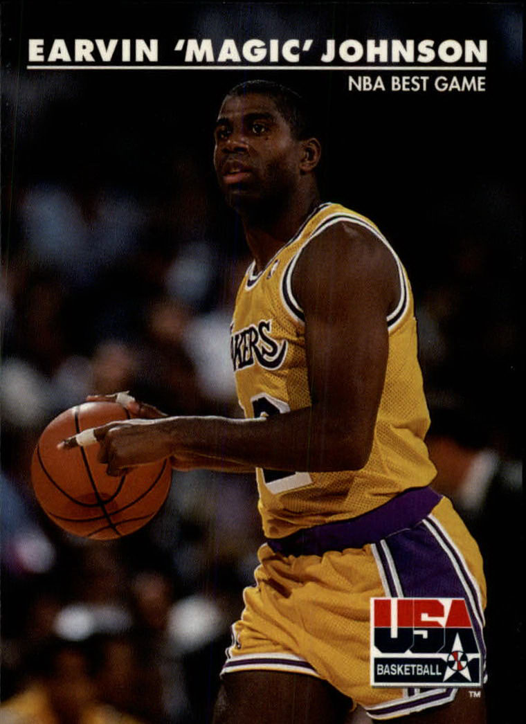 1992 SkyBox USA #31 Magic Johnson/NBA Best Game