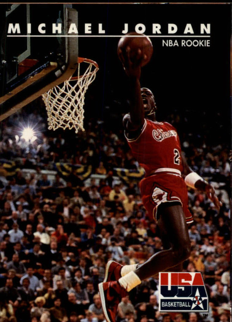 1992 SkyBox USA #38 Michael Jordan/NBA Rookie