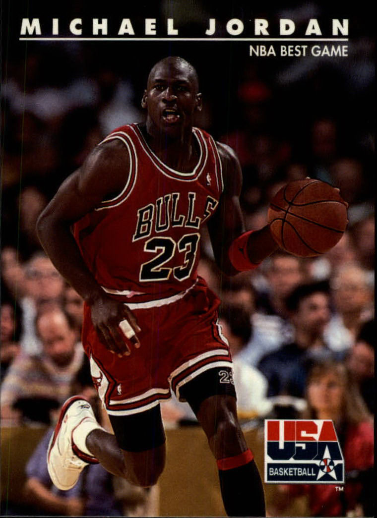 1992 SkyBox USA #40 Michael Jordan/NBA Best Game