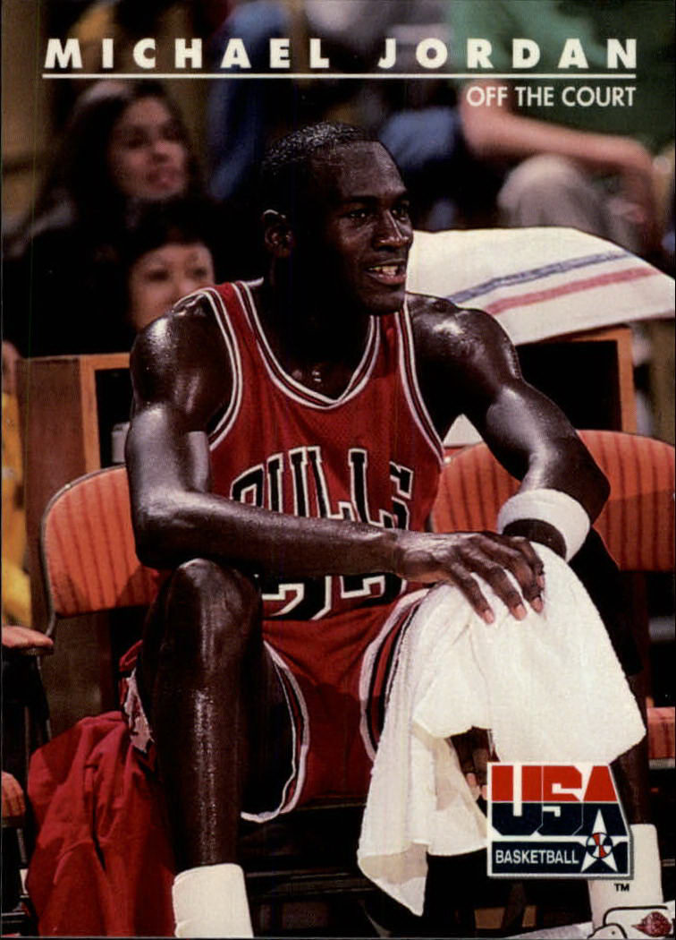 1992 SkyBox USA #41 Michael Jordan/Off the Court