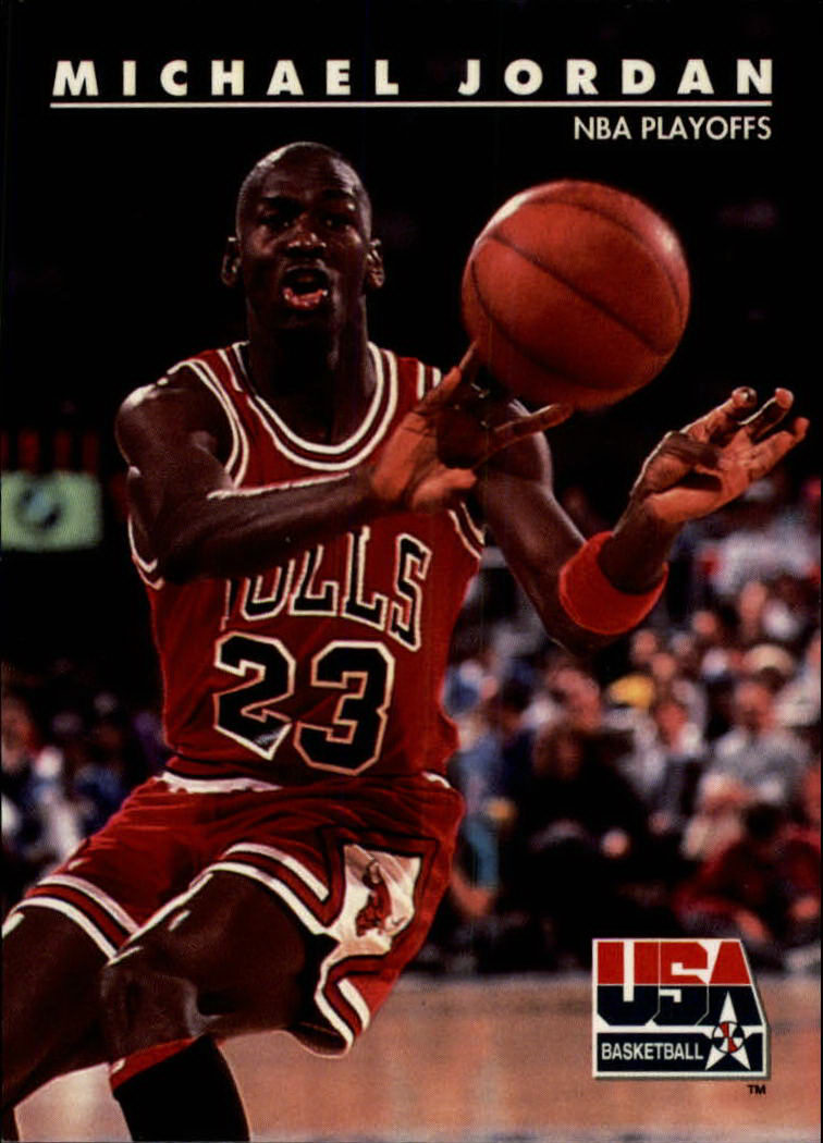 1992 SkyBox USA #42 Michael Jordan/NBA Playoffs