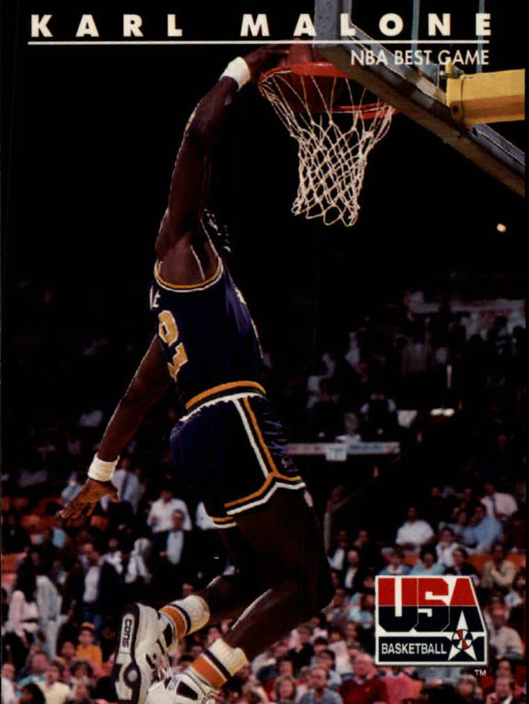 1992 SkyBox USA #49 Karl Malone/NBA Best Game