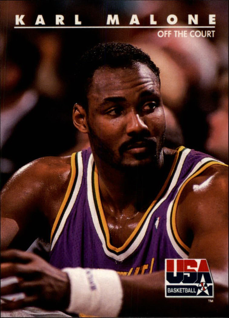 1992 SkyBox USA #50 Karl Malone/Off the Court