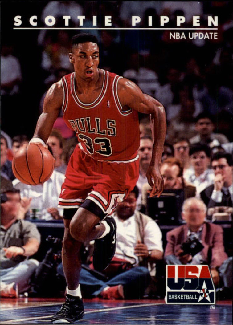 1992 SkyBox USA #64 Scottie Pippen/NBA Update