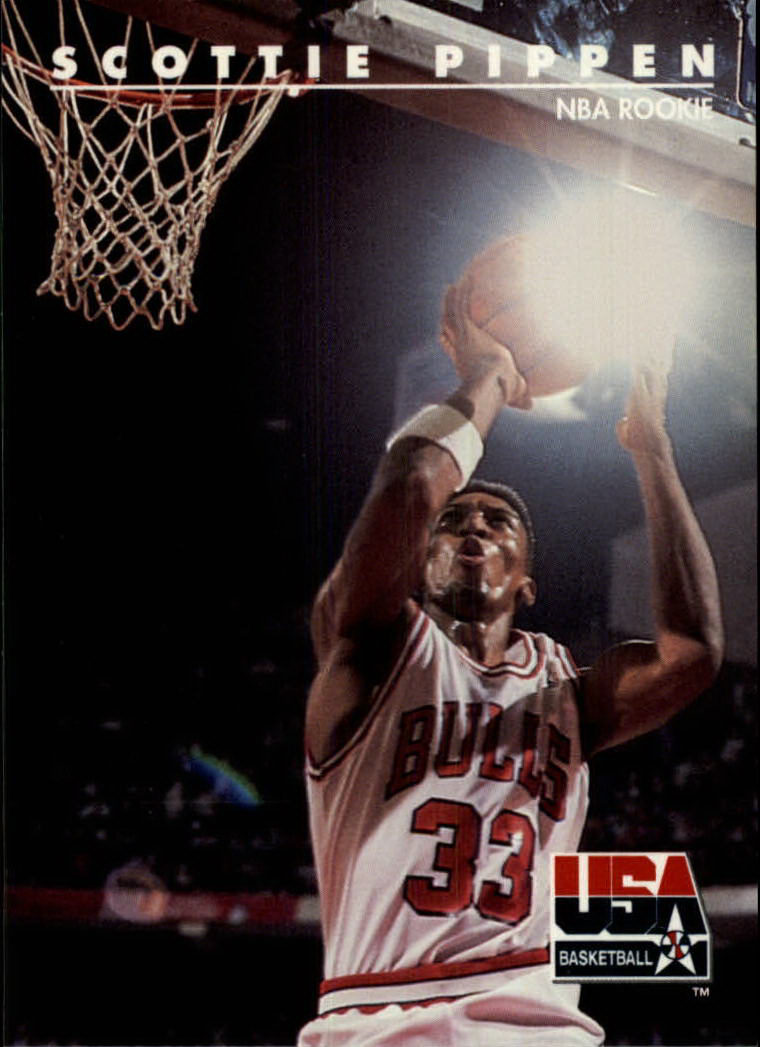 1992 SkyBox USA #65 Scottie Pippen/NBA Rookie