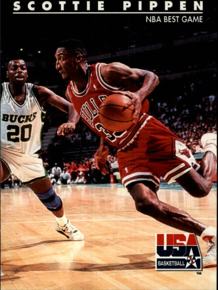 1992 SkyBox USA #67 Scottie Pippen/NBA Best Game