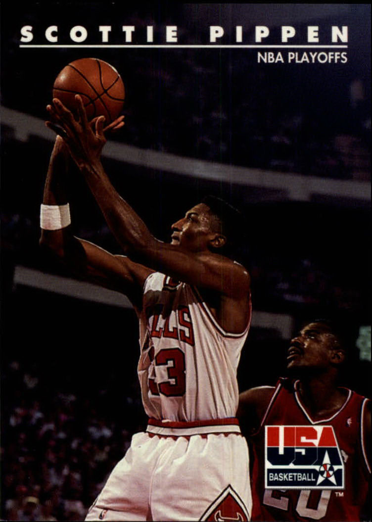 1992 SkyBox USA #69 Scottie Pippen/NBA Playoffs