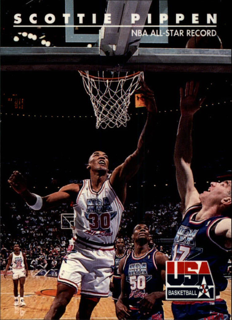1992 SkyBox USA #70 Scottie Pippen/NBA All-Star Record