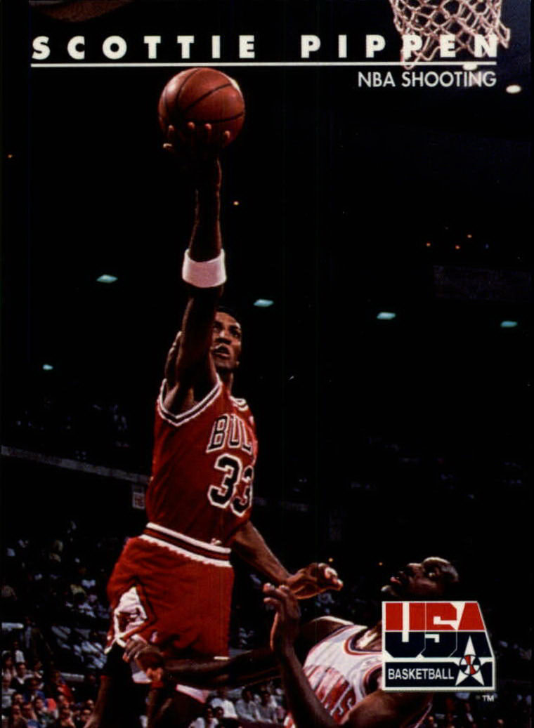 1992 SkyBox USA #71 Scottie Pippen/NBA Shooting