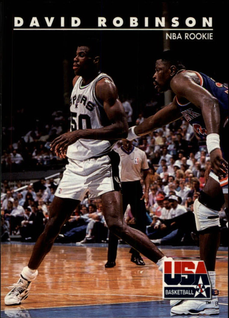 1992 SkyBox USA #74 David Robinson/NBA Rookie