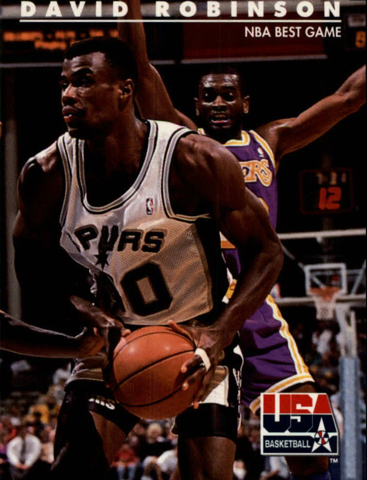 1992 SkyBox USA #76 David Robinson/NBA Best Game