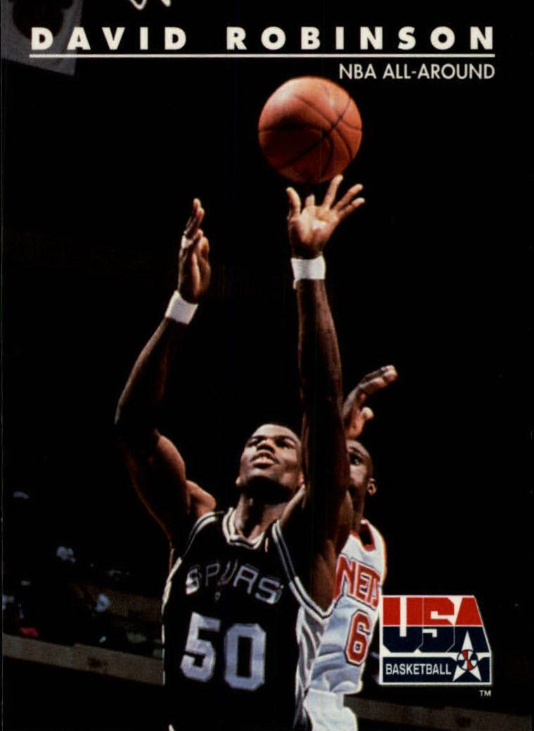 1992 SkyBox USA #81 David Robinson/NBA All-Around