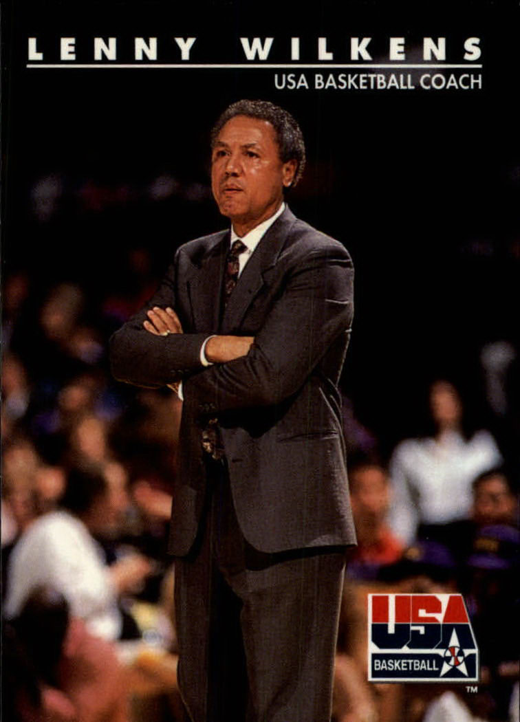 1992 SkyBox USA #97 Lenny Wilkens CO/NBA Coaching