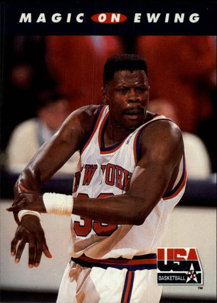 1992 SkyBox USA #103 Magic on Ewing