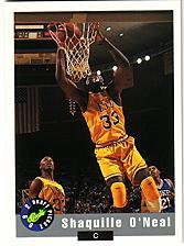 1992 Classic Promos #1 Shaquille O'Neal