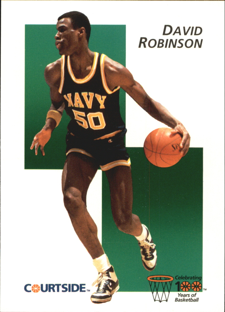 1992 Courtside Flashback #31 David Robinson