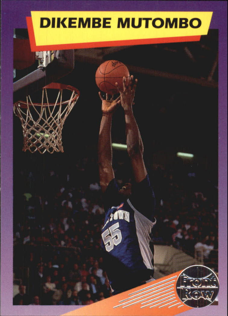 1992 Front Row Dream Picks #10 Dikembe Mutombo