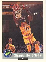 1992 Classic Previews #1 Shaquille O'Neal