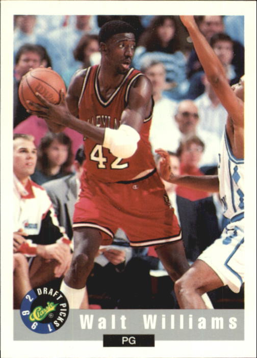 1992 Classic #2 Walt Williams