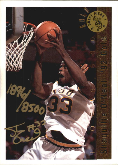 1992 Classic #NNO3 Shaquille O'Neal AU/500