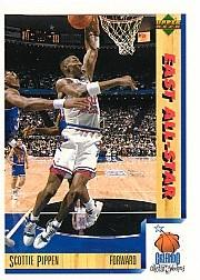 1991-92 Upper Deck International Italian #5 Scottie Pippen AS
