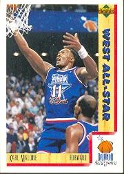 1991-92 Upper Deck International Italian #18 Karl Malone AS