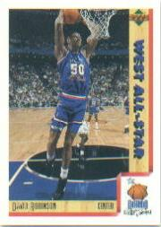 1991-92 Upper Deck International Italian #19 David Robinson AS