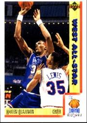 1991-92 Upper Deck International Italian #24 Hakeem Olajuwon AS