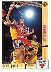1991-92 Upper Deck International Italian #39 Scottie Pippen