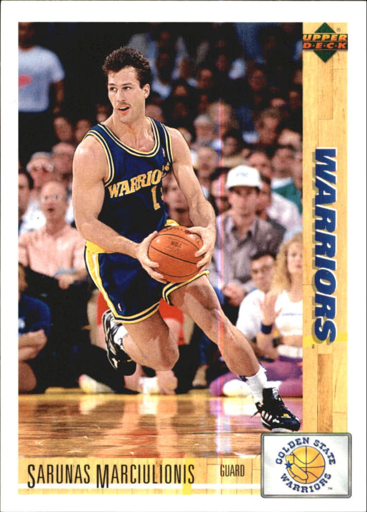 1991-92 Upper Deck International Italian #53 Sarunas Marciulionis