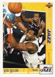 1991-92 Upper Deck International Italian #98 Karl Malone