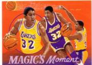 1991-92 Upper Deck International Italian #106 Magic's Moment ART
