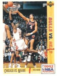 1991-92 Upper Deck International Italian #158 Michael Jordan/Rony Seikaly PO