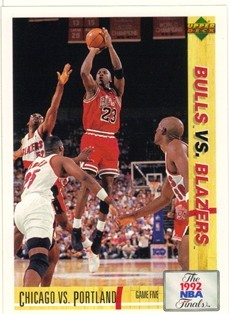 1991-92 Upper Deck International Italian #176 Michael Jordan FIN