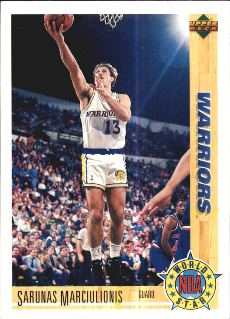 1991-92 Upper Deck International Italian #191 Sarunas Marciulionis