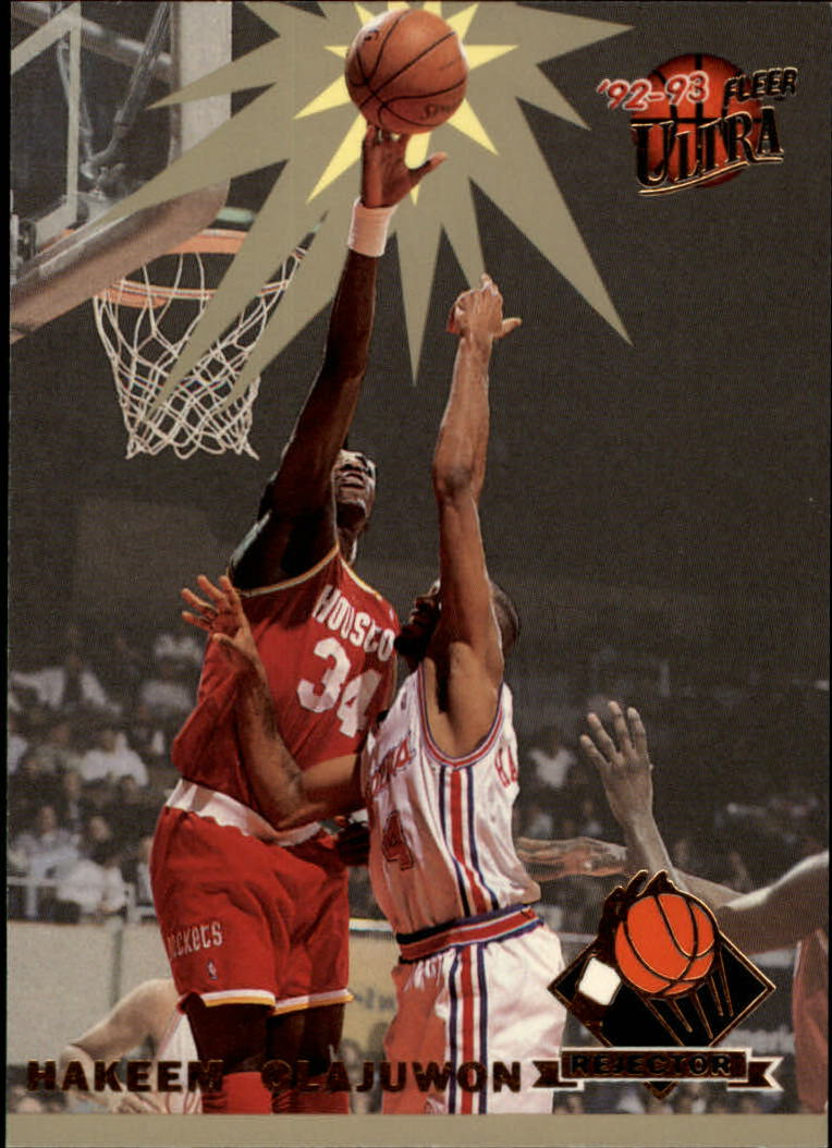 1992-93 Ultra Rejectors #3 Hakeem Olajuwon