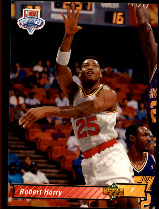 1992-93 Upper Deck #7 Robert Horry RC