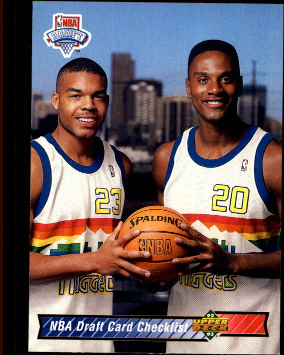 1992-93 Upper Deck #21 B.Stith/L.Ellis CL