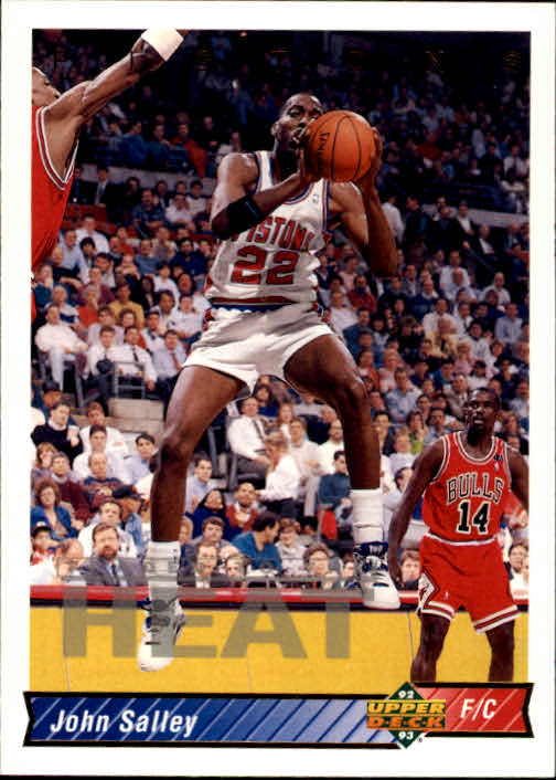1992-93 Upper Deck #24 John Salley