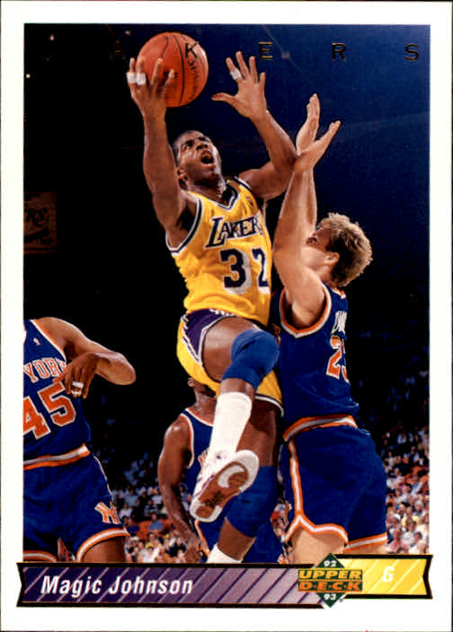1992-93 Upper Deck #32A Magic Johnson SP