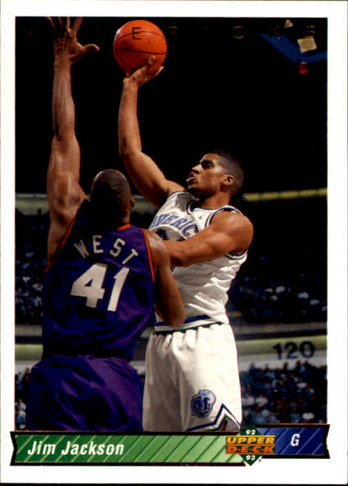 1992-93 Upper Deck #33 Jim Jackson SP RC